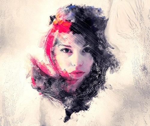 abstractbrushelementsphoto