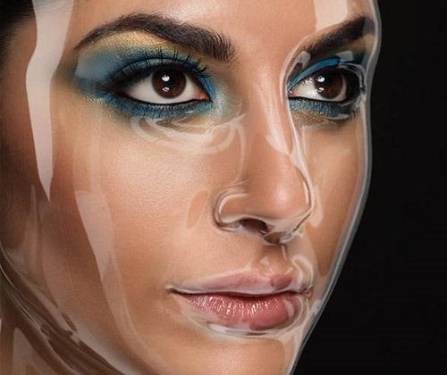 plastic-face