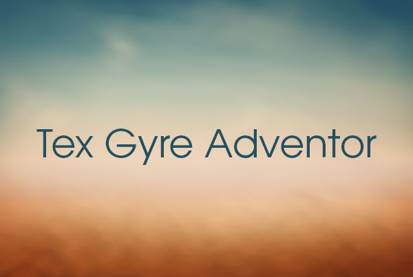Tex Gyre Adventor