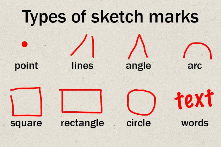 sketch-marks