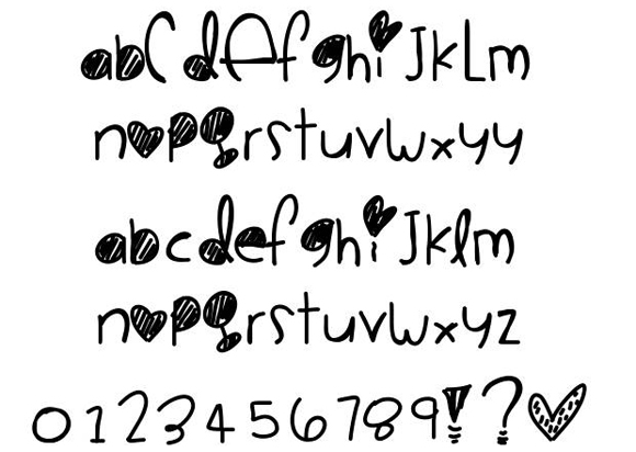 4-valentine-fonts-free