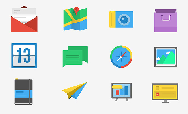 freebies-10-flatline-iconset-psd-download