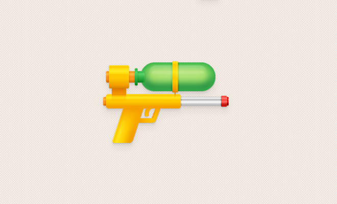 tutorials-07-water-pistol-icon-design