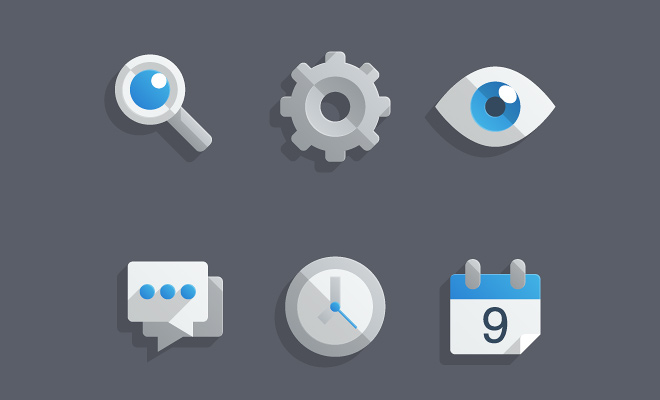 tutorials-10-almost-flat-icons-set-howto